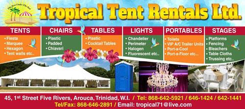 Tropical Tent Rentals Logo