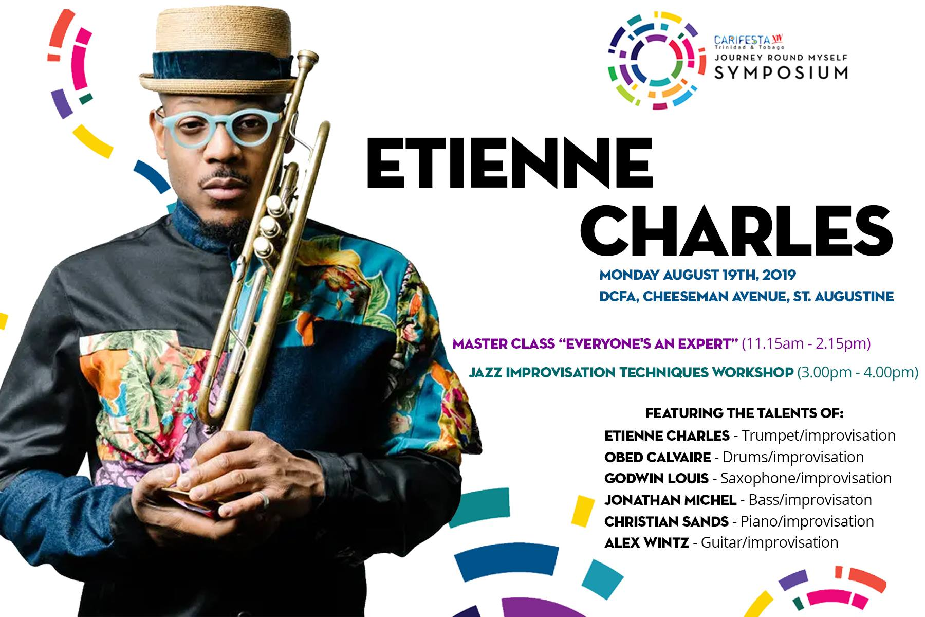 Etienne Charles Master Class Image